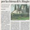 Al via gli attesissimi lavori di restauro della bellissima chiesetta di San Biagio di Grumolo Pedemonte