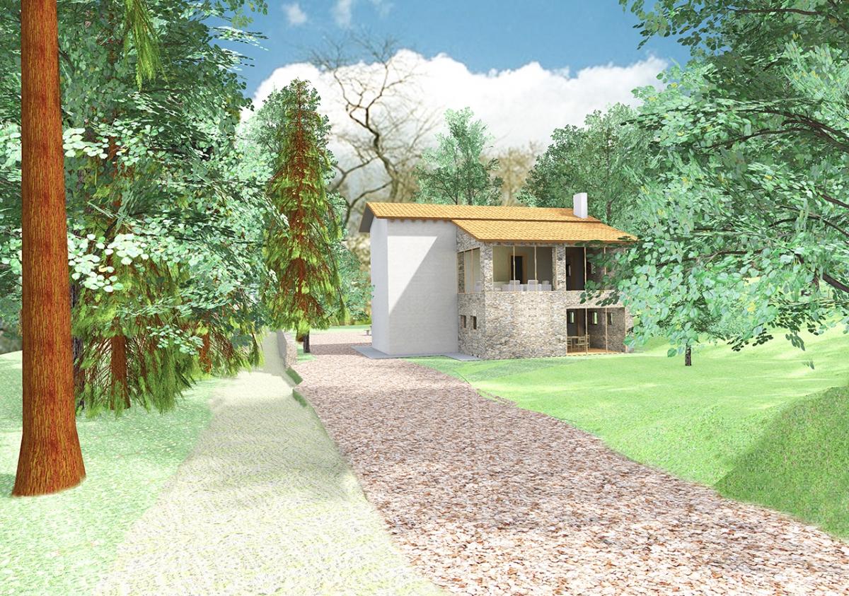 Casa nel bosco della Guizza a Isola Vicentina