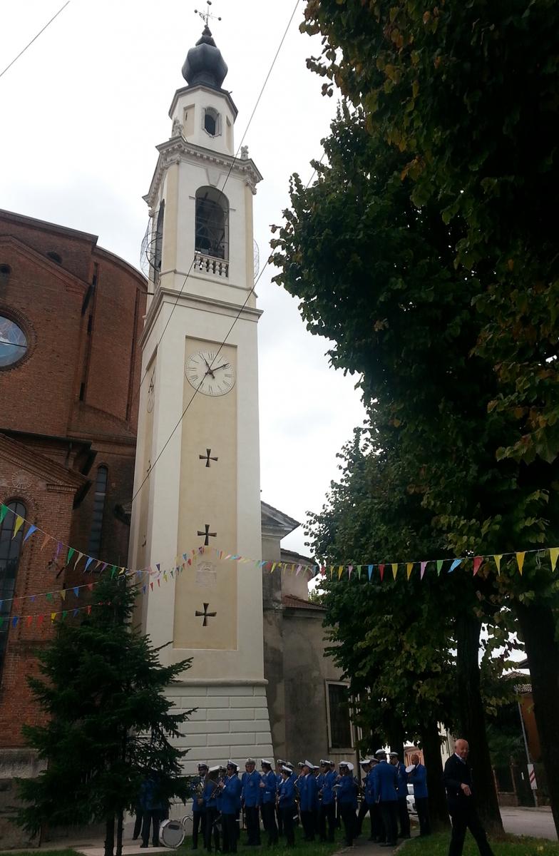 Restauro campanile a Dueville 5